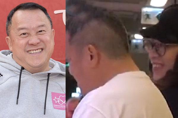 曾志伟被拍到与助理阿雪(右图右)买菜。翻摄香港《壹周刊》