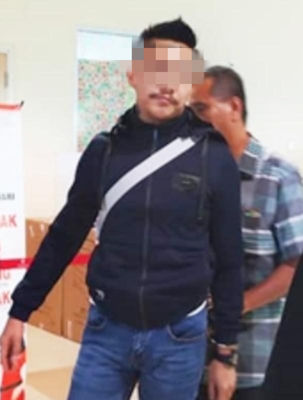 被警方通缉的嫌犯在古晋国际机场落网。
