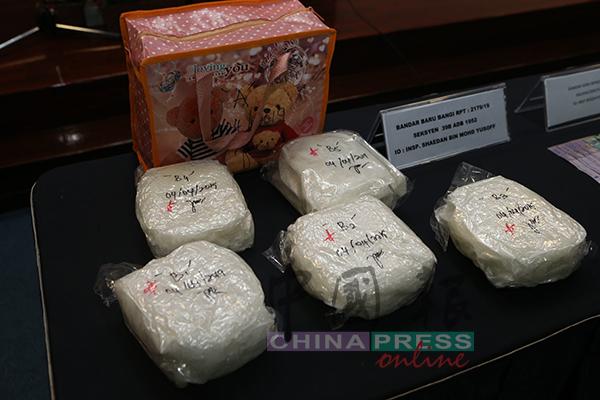 警方相信这批重达逾5公斤的冰毒,可供应给巴生谷逾1万人解瘾。