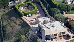 刘特佐在洛杉矶的豪宅。(图取自网络)