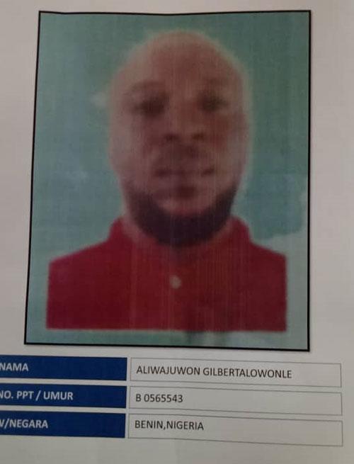 警方通缉尼日里亚籍男子阿里瓦祖文