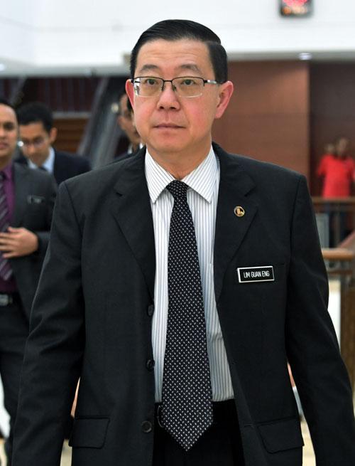 林冠英宣布 救国基金还1MDB债务