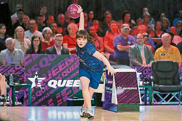冼丽莹在美巡赛Queens锦标赛夺得亚军。(美巡赛官网照片)