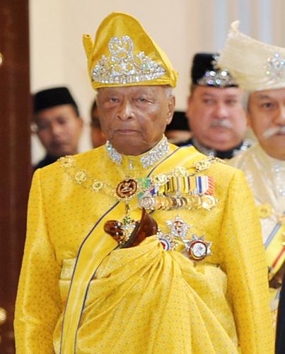 彭亨州太上王苏丹阿末沙驾崩。