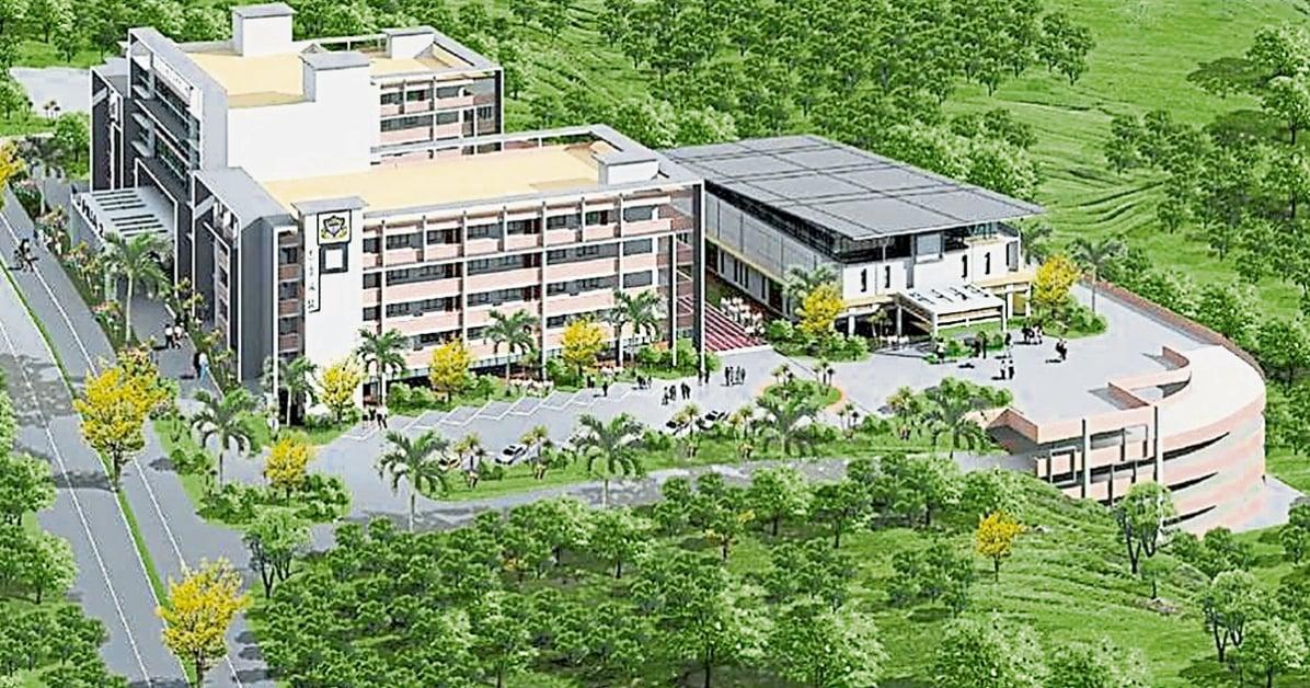 加影育华华中2校将有两栋教学楼和一栋行政楼。