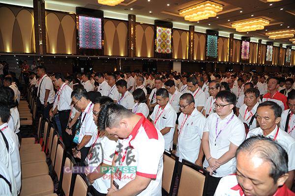 千名党员、希盟各盟党领袖及外国使节出席周日举行的行动党全国党代表大会。