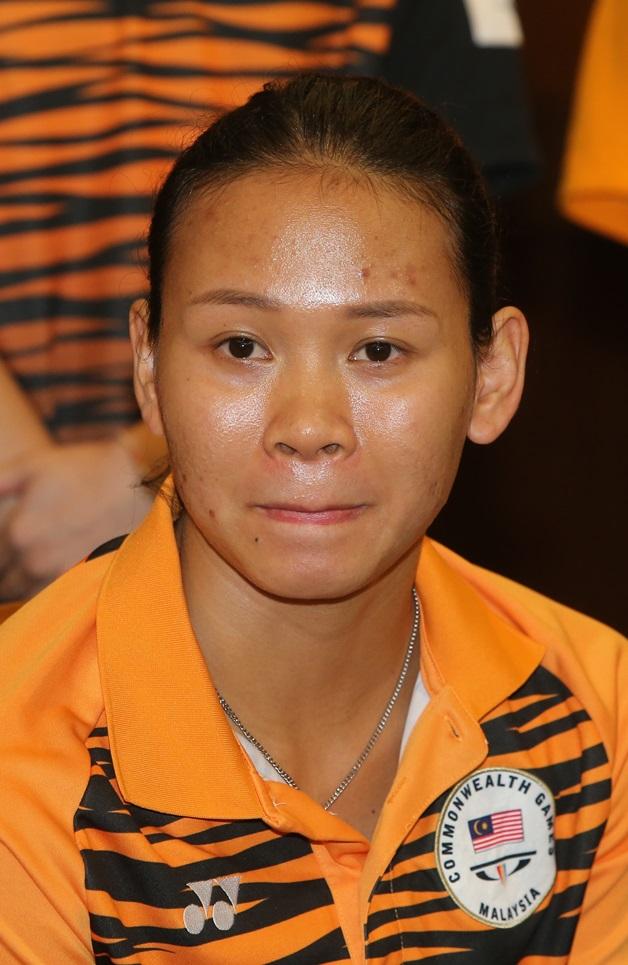 潘德丽拉将带领黄倩萍力争佳绩。