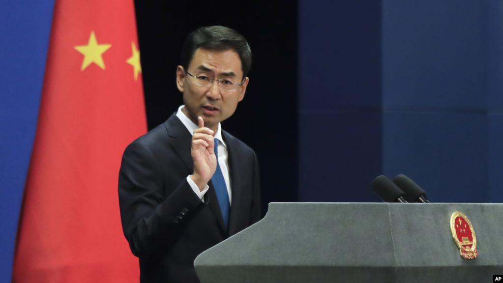 中国外交部发言人耿爽。