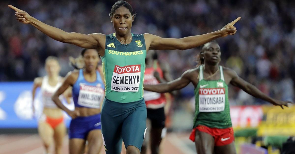 塞门娅的参赛,已争议了好几年。(美联社)