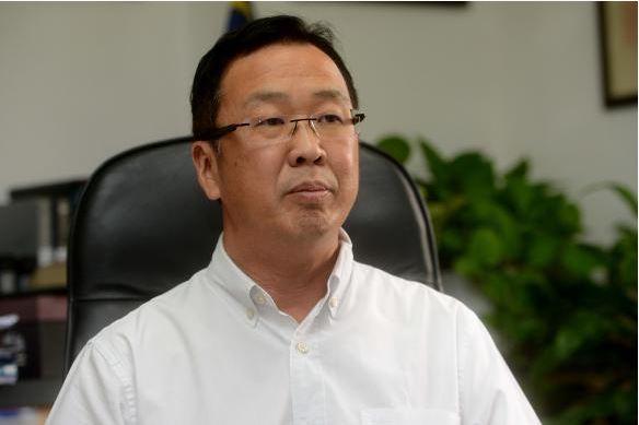 民政党主席拿督刘华才 (档案照)