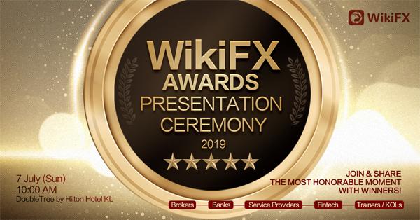 同场举办WikiFX颁奖礼,嘉许业界精英,树立典范。
