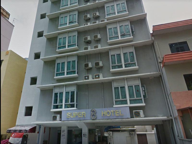 被告和男生曾到芽笼10巷的Super 8酒店住了五天。(互联网)