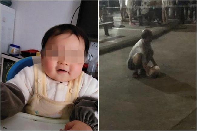 1岁男婴(图左)被生父丢出窗外;死者爷爷发现男婴无呼吸心跳后,当场崩溃。