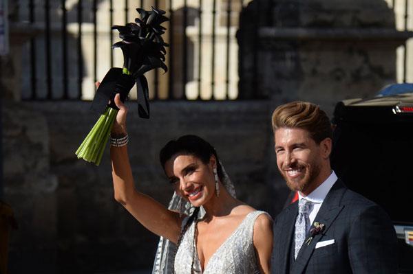 拉莫斯和皮拉尔卢比奥的婚礼正式完成。