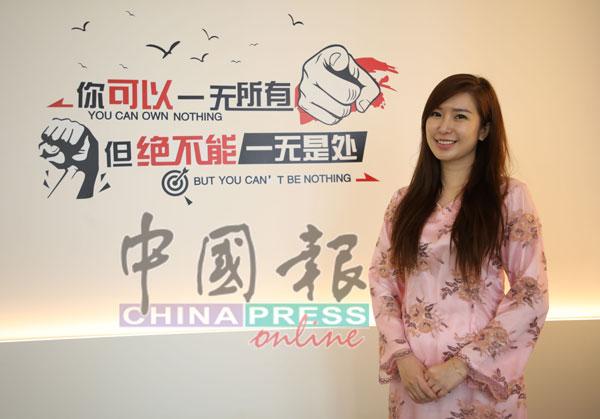李雪妮从演说家的正能量分享中学习,让自己愈加进步。