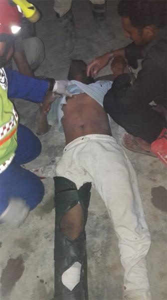 所有伤者随后被紧急送院急救。