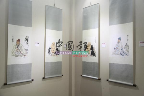 新吴门画派苏州国画院中国画作品展马来西亚巡展在马六甲郑和.朵云轩艺术馆展开。