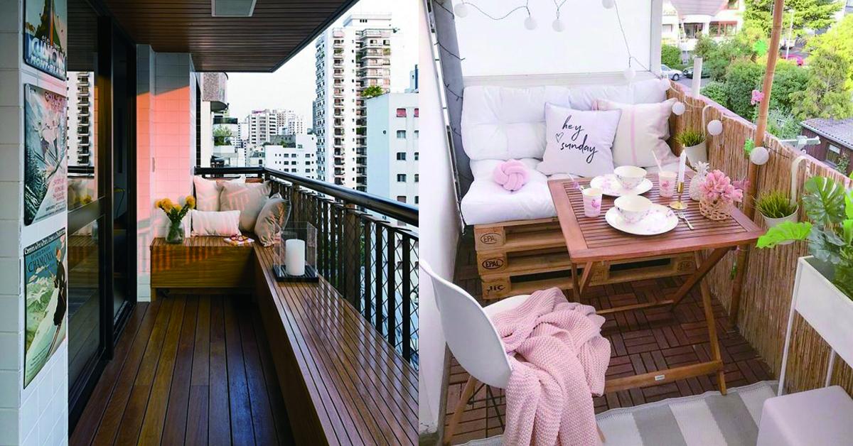 如果你打算把阳台空间纳入室内,建议在窗下设计卧榻,让阳台化身成为看书、享受阳光沐浴的好地方。 如果卧室或书房外面也有紧邻阳台,也可以尝试将阳台塑造成专属的半户外休憩空间,不论是订制卧榻、或摆放茶几椅凳,摇身一变成为时髦的私人小包厢。
