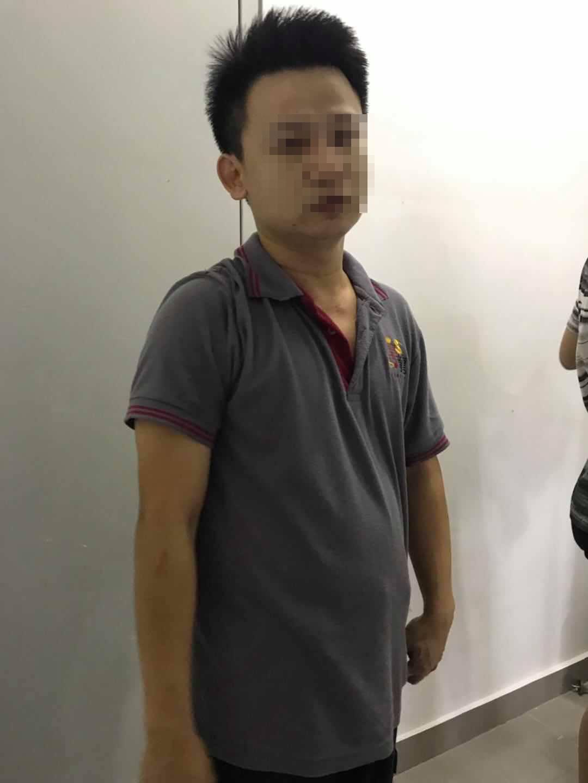 """33岁华裔男子过去是""""惯犯"""",3年前因射精入水瓶而被捕,随后证实是精神病患者。"""