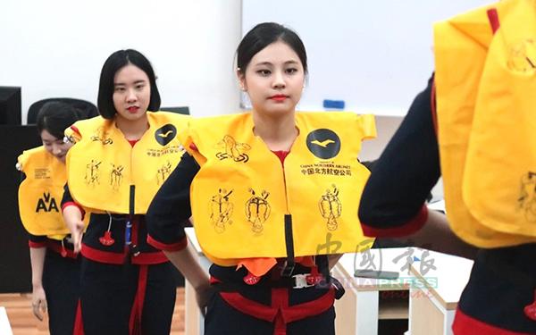 吉星国际学校设有航空服务课程。