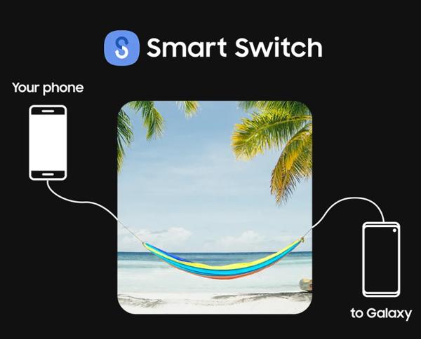 有了Smart Switch软件,指尖轻松滑动就能快速地把传输档案。