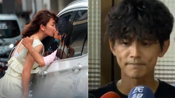 阿翔谢忻激吻爆出婚外情。