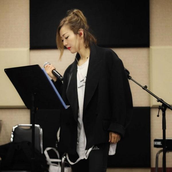 Sammi即将于12日展开13场演唱会,近半年以来一直勤练歌、排舞、健身。(图:Sammi IG)