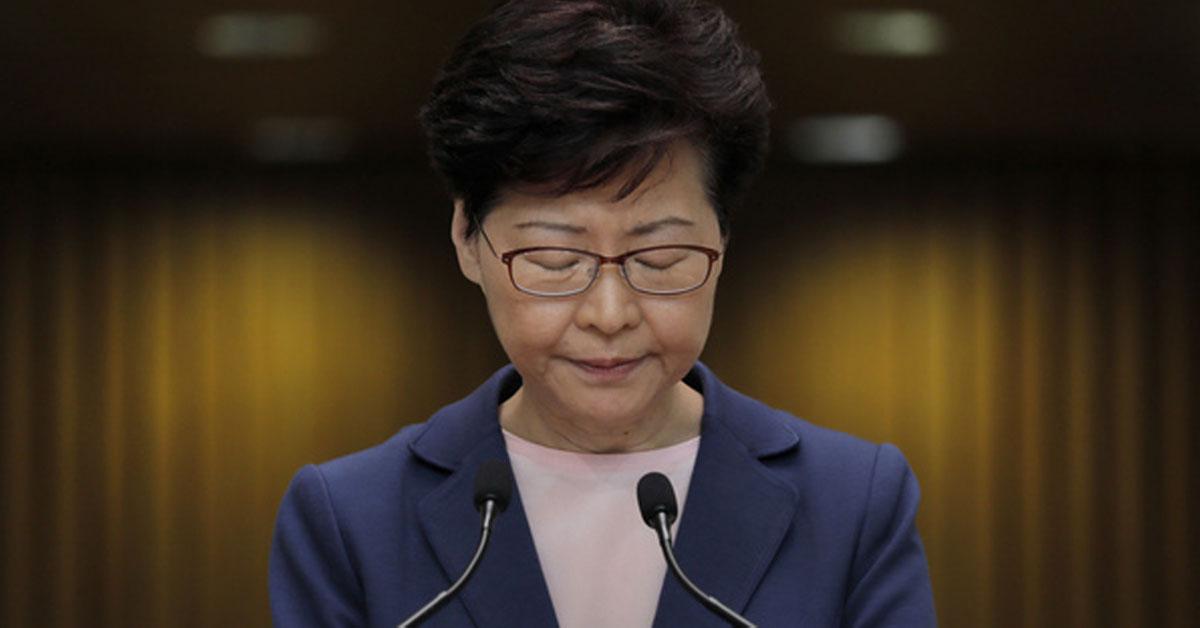 英国《金融时报》指,林郑月娥多次请辞却被拒绝,因为北京方面,要她留下收拾烂摊子。