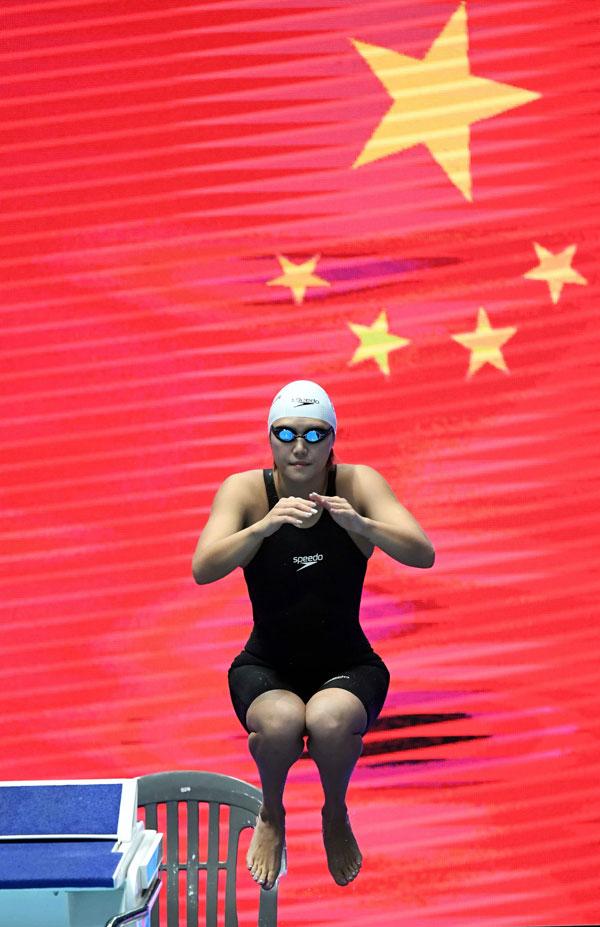 依靠强大的跳水军团,中国队最终夺得水上运动世界锦标赛总冠军。(法新社)