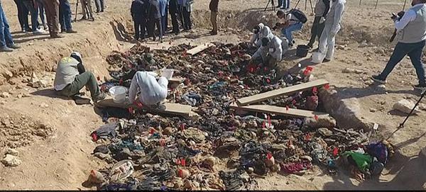 发现乱葬岗的地点,位于巴格达南部约320公里的塔尔塞奇亚。