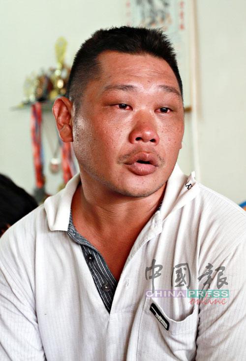 陈伟强:凡事有商量,尽快与家人联络报名平安。