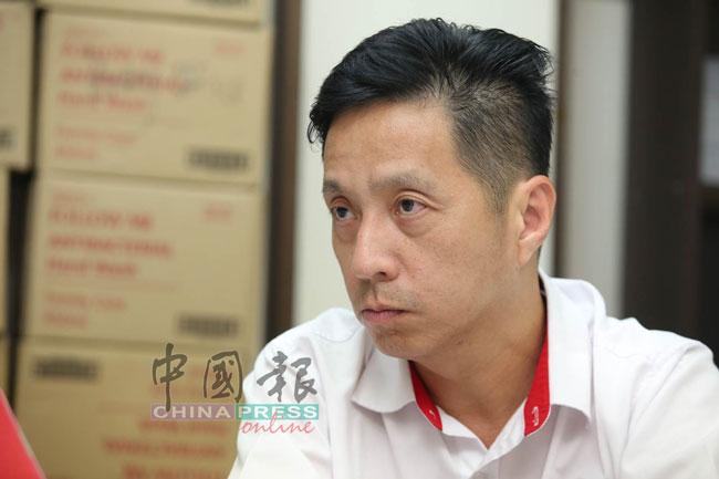 民政党署理主席胡栋强。(档案照)