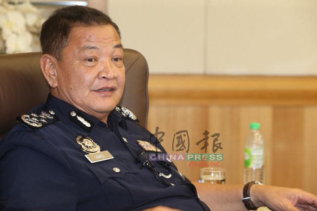 警察总长拿督斯里阿都哈密。(档案照)
