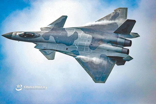 歼-20战机。