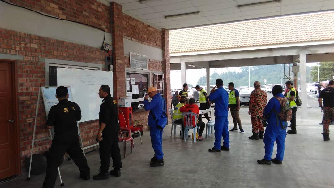 大馬海事執法機構已展開救援與搜索(SAR)行動。