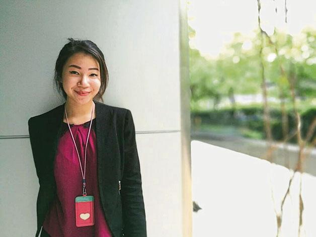 雅美拉说,积极主动是她在整个实习过程中的态度。