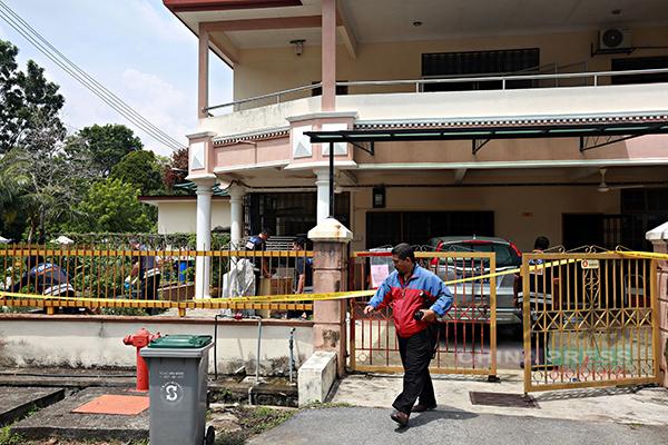 汝来迪沙美拉蒂花园发生双尸命案,两名死者儿子被控上庭。