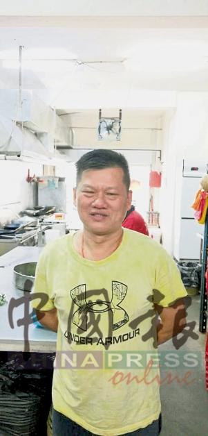 餐馆业主刘洁江也接获同样的来电。