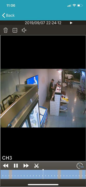 华裔男子在一家泰式烧烤火锅店偷取收银机内的现金时,被餐厅内的闭路电视拍下。