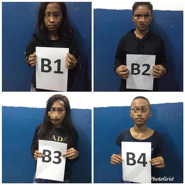 警方已逮捕4名女嫌犯助查,当中3名女嫌犯是菲律宾籍,另一人是印尼籍。