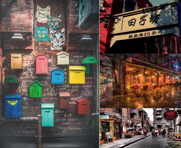 田子坊是由数条穿插其间的小巷构成了的,每一条街巷都值得细细品味,不光是因为这里展露着老上海人传统的居住风格,许多精致的咖啡厅及人气礼品店也都藏在这些街巷之中。走在田子坊,迂回穿行在迷宫般的弄堂里,特色小店和艺术作坊不经意间跳入视线。从茶馆、露天餐厅、露天咖啡座、画廊、家居摆设到手工艺品,以及众多沪上知名的创意工作室应有尽有。 如何抵达:乘地铁9号线,在打浦桥站下车,1号出口出。