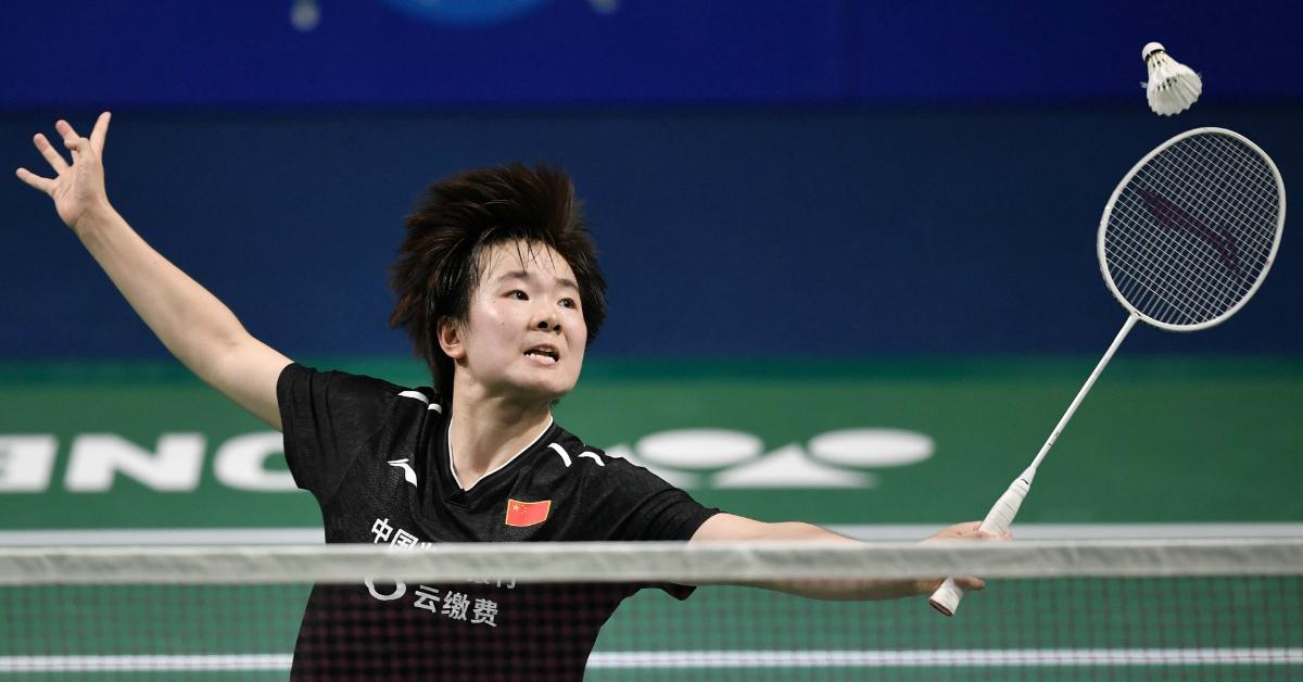 中国的何冰娇结束近3年的国际冠军荒。(法新社)