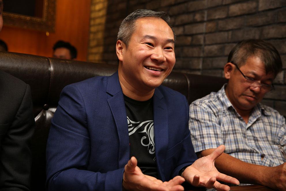 梁润江有问必答,但他要搞清楚发生什么事后,才能回应网络上流传的视频。
