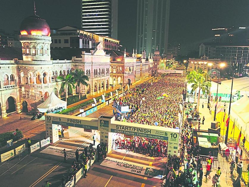 隆马已成为国内最受欢迎的马拉松赛事。(图:Dirigo Events)