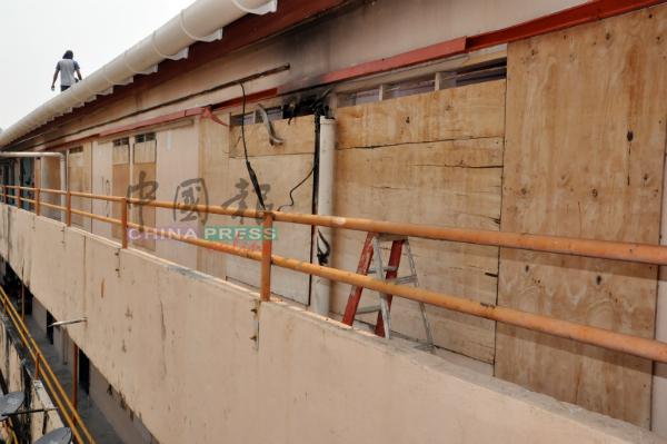 空置单位正在翻新中,完成后再出租给低收入群体。