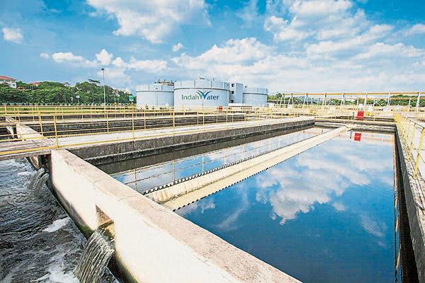 英达丽水公司总部设有齐全的污水系统。