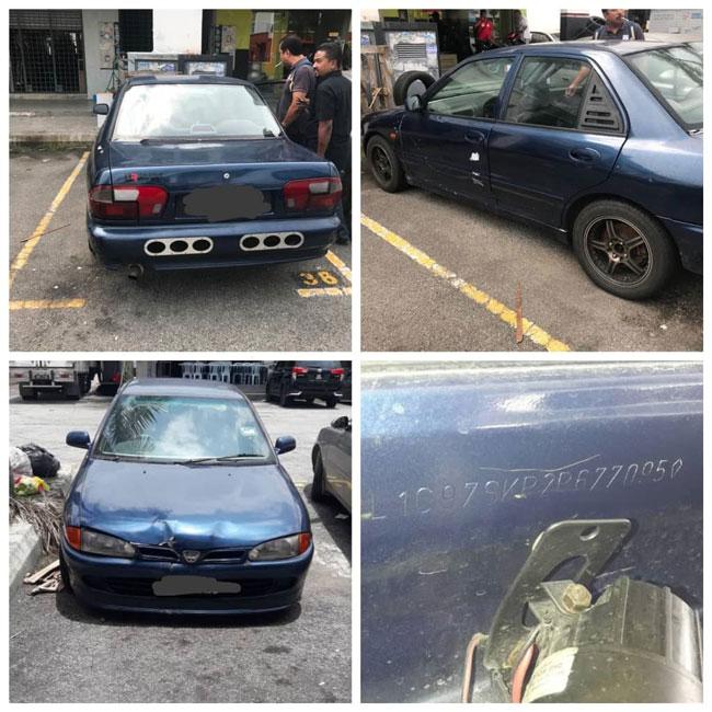 警方在逮捕行動中,也起獲數輛報失轎車,同時也成功偵破在雪隆地區發生的偷車案。