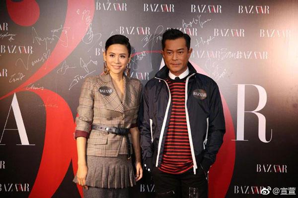 古天樂和宣萱是許多觀眾心目中的最佳熒幕情侶。