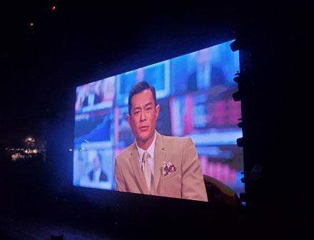 古天乐在谢安琪演唱会上自爆已经订婚!