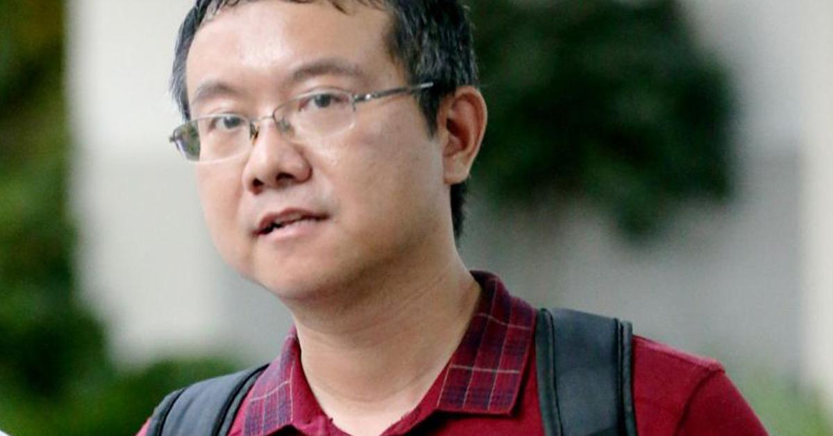 被判囚14周的新加坡国大前高级讲师——龙云。